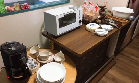 ゲストハウスで朝食を出すと決めてから1日で実行してみました