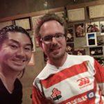 ラグビーワールドカップの日本代表の試合をドイツ人と一緒に観戦!